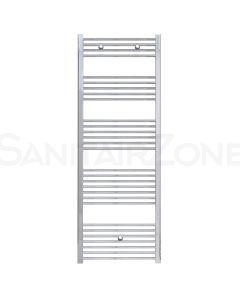 Belrad Handdoekradiator Zijaansluiting 1700x600mm 580 Watt Chroom